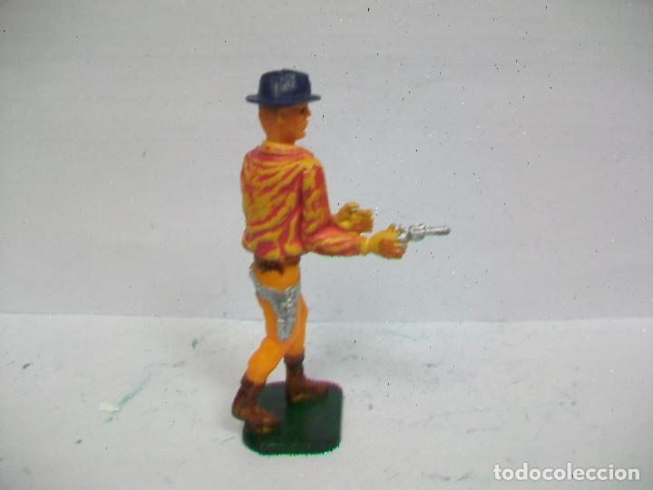 Figuras de Goma y PVC: FIGURA VAQUERO COFALU STARLUX POSICION DE DUELO AÑOS 60/70 NO PECH REAMSA JECSAN - Foto 2 - 71218545