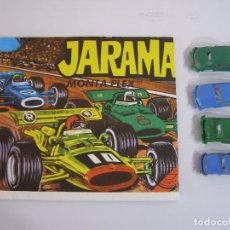 Figuras de Goma y PVC: SOBRE JARAMA MONTAPLEX, AÑOS 70.. Lote 89357158