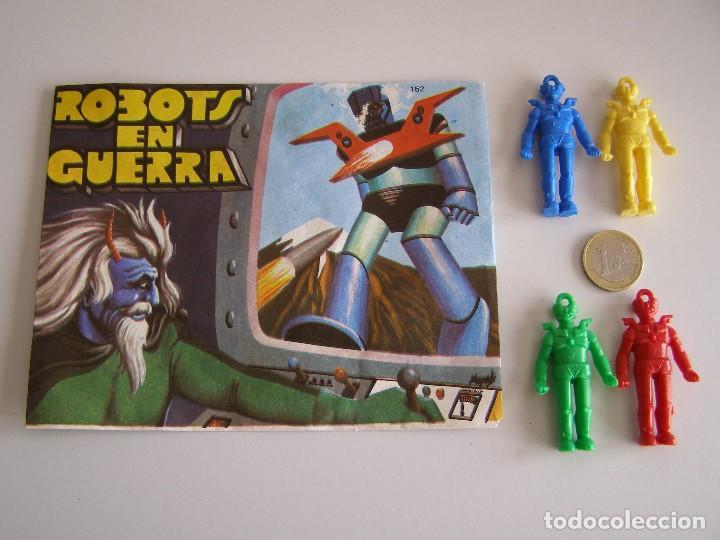 SOBRE MONTAPLEX ORIGINAL AÑOS 70 ROBOTS EN GUERRA. MAZINGER Z. (Juguetes - Figuras de Goma y Pvc - Montaplex)
