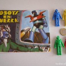 Figuras de Goma y PVC: SOBRE MONTAPLEX ORIGINAL AÑOS 70 ROBOTS EN GUERRA. MAZINGER Z.. Lote 134206115