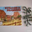 Figuras de Goma y PVC: SOBRE MONTAPLEX ORIGINAL AÑOS 70 ESTACION DE DILIGENCIAS. Lote 139939212