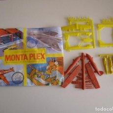 Figuras de Goma y PVC: SOBRE MONTAPLEX ORIGINAL AÑOS 70 AVIONES 4 MODELOS DIFERENTES.. Lote 79031357