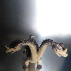 Figuras de Goma y PVC: ANTIGUO JUGUETE-DRAGÓN 2 CABEZAS-BUEN ESTADO-VER FOTOS.. Lote 71599899