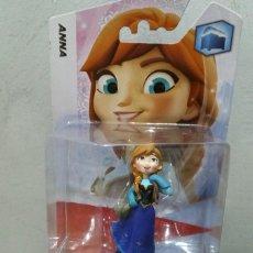 Figuras de Goma y PVC: FIGURA ANNA FROZEN DISNEY INFINITY NUEVA. Lote 100667182