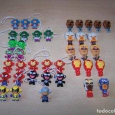 Figuras Kinder: FIGURAS DE SUPERHEROES MARVEL. Lote 72079655