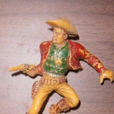 Figuras de Goma y PVC: FIGURA PLÁSTICO LAFREDO. GRANDES DIMENSIONES. INDIOS Y VAQUEROS. OESTE.. Lote 72135179