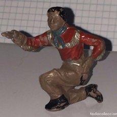 Figuras de Goma y PVC: FIGURA DE VAQUERO LAFREDO, REALIZADO EN GOMA AÑOS 50, MIDE 4,5 CMS DE ALTO.. Lote 72214259