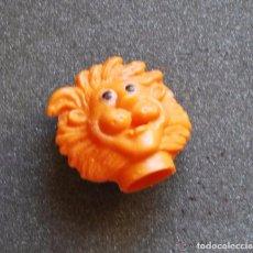 Figuras de Goma y PVC: MUÑECO DANONE LEÓN. DEDOÑECO DIFICIL DE ENCONTRAR. BUEN ESTADO. Lote 95732056