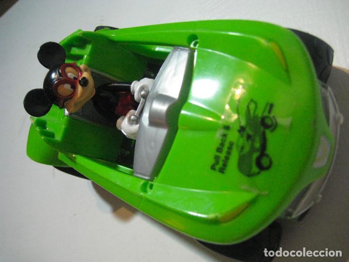 Figuras de Goma y PVC: MICKEY MOUSE COCHE A FRICCIÓN 15CM. DISNEY - Foto 2 - 72265483