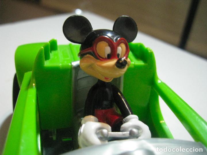 Figuras de Goma y PVC: MICKEY MOUSE COCHE A FRICCIÓN 15CM. DISNEY - Foto 3 - 72265483