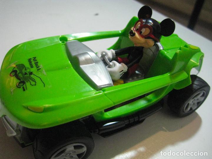 Figuras de Goma y PVC: MICKEY MOUSE COCHE A FRICCIÓN 15CM. DISNEY - Foto 5 - 72265483