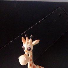 Figuras de Goma y PVC: FIGURA PVC JIRAFA ANIMAL. MARCA GOSNELL.. Lote 179058928