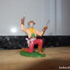 Figuras de Goma y PVC: FIGURA PVC SOTORRES ASALTO A LA DILIGENCIA VAQUERO . Lote 72278475