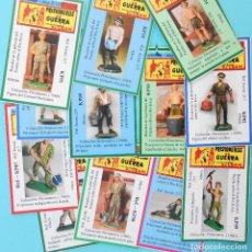 Figuras de Goma y PVC: FICHA CROMOS PARA CLASIFICAR LAS COLECCIONES. SERIE PRISIONEROS DE JECSAN - REAMSA.. Lote 263677025
