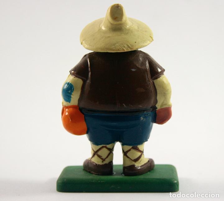Figuras de Goma y PVC: FIGURA DE GOMA Y PVC VINTAGE - COMICS SPAIN - SANCHO PANZA - 6 CMS - Foto 2 - 72397303