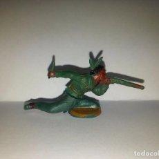 Figuras de Goma y PVC: INDIO EN GOMA DESMONTABLE, FABRICADO POR GAMA, AÑOS 1950-60.. Lote 72453351