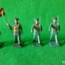 Figuras de Goma y PVC: SOLDADOS DESFILANDO DE LA GUARDIA CIVIL DE SOLDIS REAMSA GOMARSA . Lote 72702291