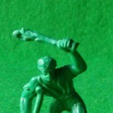 Figuras de Goma y PVC: FIGURA EN PLASTICO PIRATA CON PATA PALO JECSAN REAMSA COMANSI GOMARSA. Lote 72765851