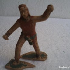 Figuras de Goma y PVC: GUERRERO AZTECA DE REAMSA. Lote 72786287