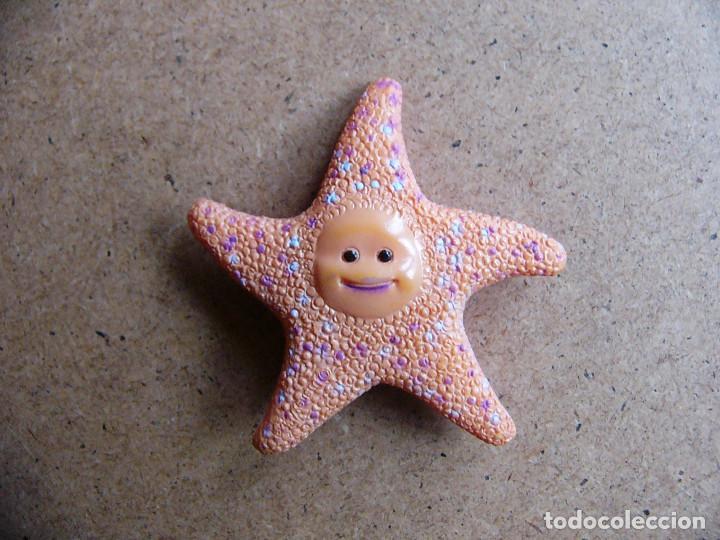 Figuras de Goma y PVC: Peach estrella de mar del acuario del dentista de la pelicula Buscando a Nemo - dificil - Foto 3 - 72835747