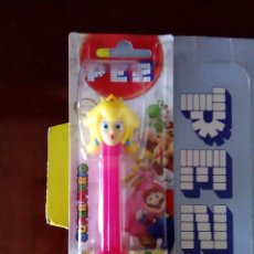 Dispensador Pez: DISPENSADOR CARAMELOS PEZ- PRINCESA PEACH SUPERMARIO NINTENDO. Lote 73187651