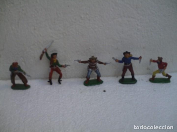 VAQUEROS DE PECH (Juguetes - Figuras de Goma y Pvc - Pech)
