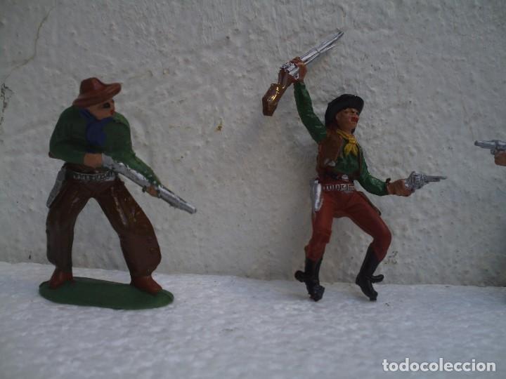Figuras de Goma y PVC: vaqueros de pech - Foto 2 - 73467655