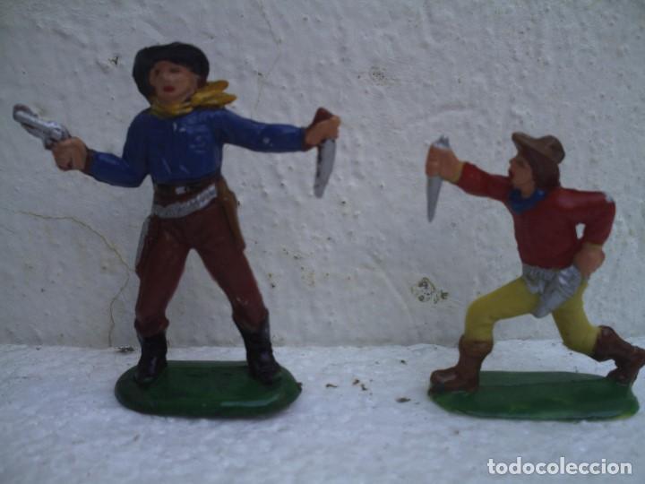 Figuras de Goma y PVC: vaqueros de pech - Foto 4 - 73467655