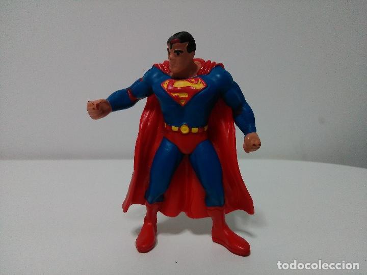 FIGURA DE SUPERMAN DE LA LIGA DE LA JUSTICIA DE DC COMICS. COMICS SPAIN. (Juguetes - Figuras de Goma y Pvc - Comics Spain)
