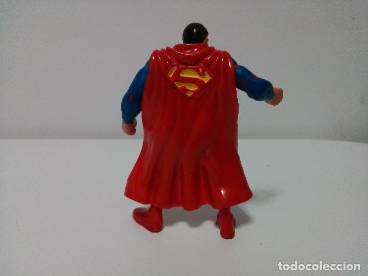 Figuras de Goma y PVC: Figura de Superman de la Liga de la Justicia de DC Comics. Comics Spain. - Foto 3 - 73632755
