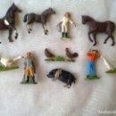 Figuras de Goma y PVC: VINTAGE FIGURAS BRITAINS,ANIMALES,CABALLOS,PERSONAJES,NO IBERTREN. Lote 73643831