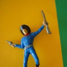 Figuras de Goma y PVC: VAQUERO PECH 70MM. Lote 73755423