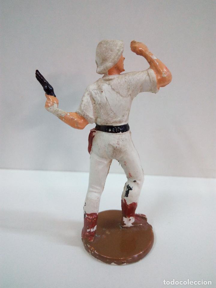 Figuras de Goma y PVC: EXPLORADOR . REALIZADO POR GAMA . SERIE SAFARI . AÑOS 50 EN GOMA - Foto 3 - 73779459