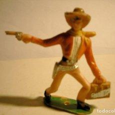 Figuras de Goma y PVC: VAQUERO ASALTADOR BANCO DE COMANSI. Lote 73828643