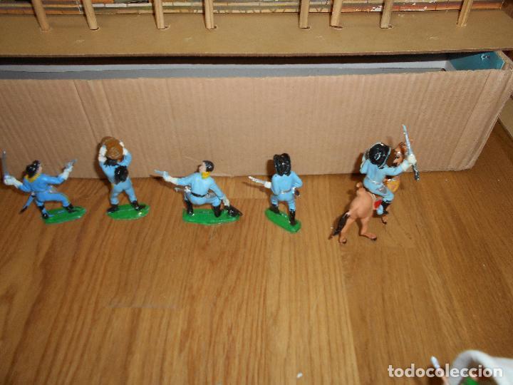 Figuras de Goma y PVC: MINIOESTE COMANSI TODO EL OESTE AMERICANO BILLY EL NIÑO CAJA ORIGINAL EXTRAS AÑOS 60 70 C MADERA - Foto 10 - 73805031