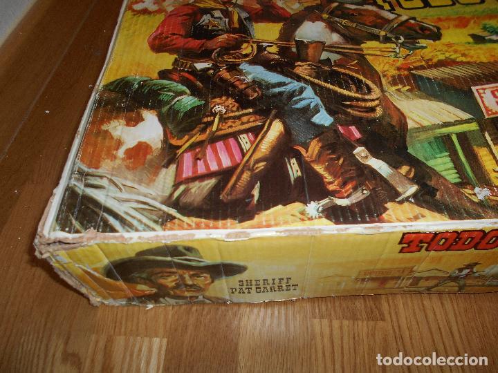 Figuras de Goma y PVC: MINIOESTE COMANSI TODO EL OESTE AMERICANO BILLY EL NIÑO CAJA ORIGINAL EXTRAS AÑOS 60 70 C MADERA - Foto 36 - 73805031
