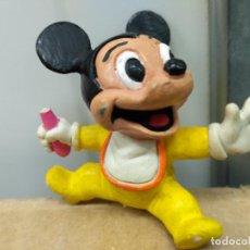 Figuras de Goma y PVC: DISNEY FIGURA PVC MICKEY MOUSE BEBE COMICS SPAIN. Lote 74089419