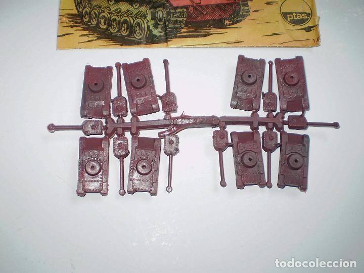 Figuras de Goma y PVC: LOTE MONTAPLEX - SOBRE Nº 1005 ROMMEL ATACA VACÍO CON SU CONTENIDO ORIGINAL - Foto 2 - 74165255