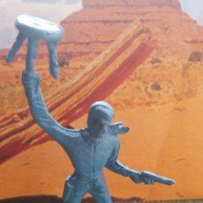 Figuras de Goma y PVC: ANTIGUA FIGURA DEL OESTE COMANSI. COWBOY. SERIE 70 MM. CANAL PIPERO. . Lote 74238586