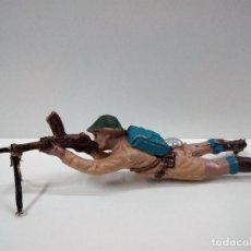 Figuras de Goma y PVC: SOLDADO INGLES . REALIZADO POR PECH . AÑOS 60. Lote 74258383