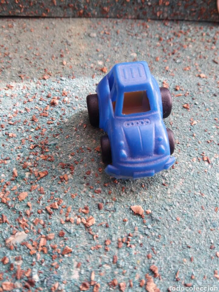 FIGURA PROMOCIONAL COCHE KINDER. PLASTICO. (Juguetes - Figuras de Gomas y Pvc - Kinder)