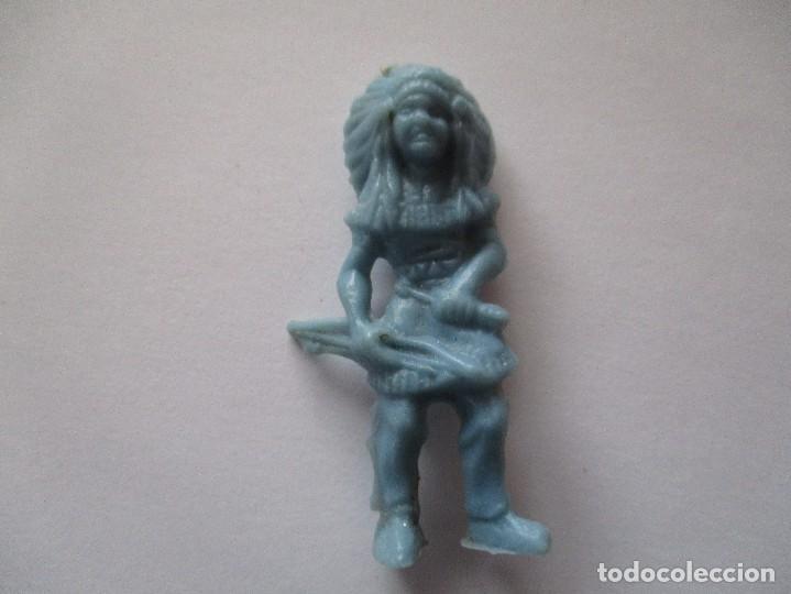 FIGURA INDIO PIPERO AÑOS 60 (Juguetes - Figuras de Goma y Pvc - Pipero)
