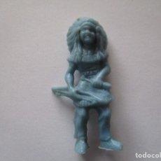 Figuras de Goma y PVC: FIGURA INDIO PIPERO AÑOS 60. Lote 74640603