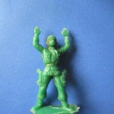 Figuras de Goma y PVC: VAQUERO EN PLASTICO 54MM. Lote 74675863