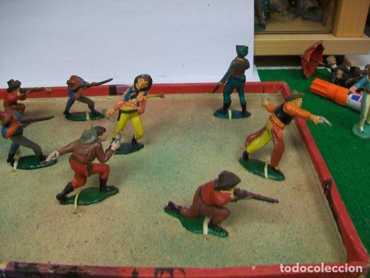 Figuras de Goma y PVC: CAJA ORIGINAL AGUSTI TEIXIDO - CAJA TEIXIDO AÑOS 50 - FIGURAS GOMA TEIXIDO TEIXIDOR - Foto 2 - 74758211