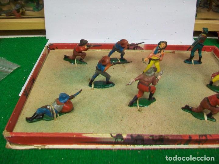 Figuras de Goma y PVC: CAJA ORIGINAL AGUSTI TEIXIDO - CAJA TEIXIDO AÑOS 50 - FIGURAS GOMA TEIXIDO TEIXIDOR - Foto 3 - 74758211