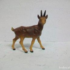 Figuras de Goma y PVC: ANIMAL STARLUX - CLAIRET AÑOS 50 CABRA CIERVO BAMBI O SIMILAR . Lote 74758251