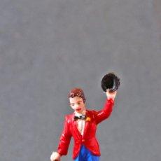 Figuras de Goma y PVC: FIGURA DEL CIRCO CHICO CON SOMBRERO Y BASTON.. Lote 74804547