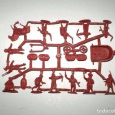 Figuras de Goma y PVC: MONTAPLEX 1 COLADA DE LEGIONARIOS ROMANOS DEL SOBRE Nº 155 LEGIONES ROMANAS - COLOR BURDEOS. Lote 74843375