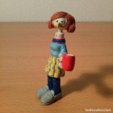 Figuras de Goma y PVC: FIGURA PVC PERSONAJE SHOE DE JEFF MACNELLY. COMICS SPAIN. 1986. 8 CM DE ALTO.. Lote 74900631